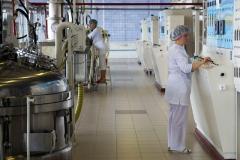 Производство зубных паст. В реакторном зале