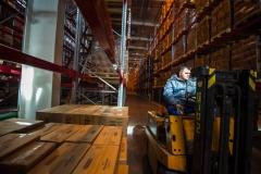 Крупное производство должно иметь соответствующее складское хозяйство