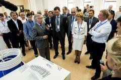 Встреча руководства фабрики с А. Чубайсом (РОСНАНО)
