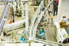 Начало выпуска мыла Победа на мыловаренном производстве