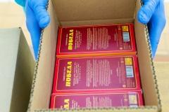 Коробка с наборами готова
