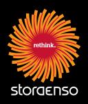 Stora Enso logo 2011 negative