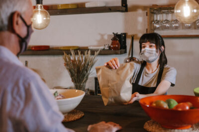 On the Go Horeca_7 with facemask